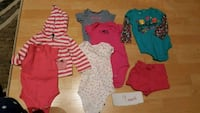toddler's assorted clothes Maple Ridge, V4R 2X1