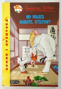Libro: No volies karate, Stilton? Barcelona