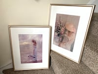 Pair of Lovely Signed & Numbered Lithographs Baltimore, 21205