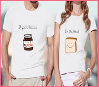 T-Shirts If you're Nutella + I'm the Bread Lüdinghausen, 59348
