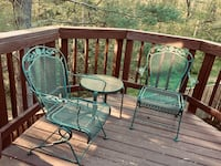 Wrought iron chairs set of 2 Centreville, 20121