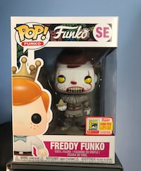 FUNKO POP! FREDDY FUNKO PENNYWISE IT LE 4000 SDCC FUNDAYS 2018 BOX OF FUN ICONS Gaithersburg, 20878