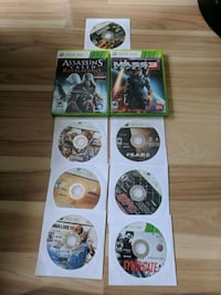assorted Xbox 360 game discs London, N6B 2G5