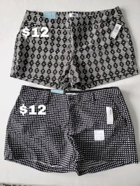 Womens' Shorts, Never Worn