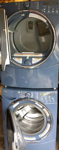 Blue kenmore elite he5t stackable washer and dryer Pickering, L1V 6P5