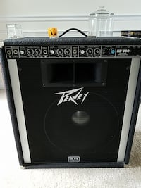black and gray Peavey guitar amplifier Lovettsville, 20180