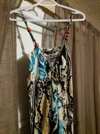 Maxi dress, only worn once Ontario, L4L 6L1