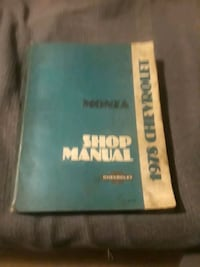 Chevrolet shop manual  Hagerstown, 21742
