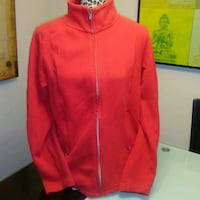Preworn: red kirkland light fall / spring jacket w