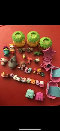 Mixed Lot of little toys, shopkins, funko, hatchimals, jungle in my pocket, d'lectables, splashlings etc Chino Hills, 91709