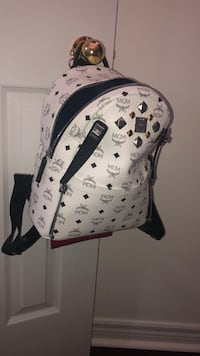 Authentic mcm dual stark backpack small Ajax, L1T 3N2