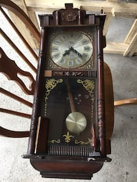 Vintage grandfather clock.