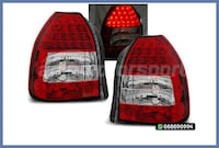 PILOTOS ROJO/CROMO CIVIC HATCHBACK 95-01 MADRID