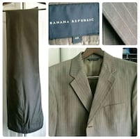 5 Classic Suits (Tommy Hilfiger, Banana Republic, Jones NY)