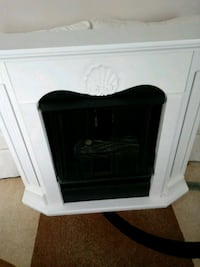 white and black electric fireplace Wildwood Crest, 08260