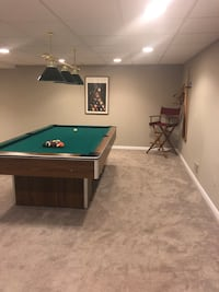Pool table, as well as everything in photos, cover included $763