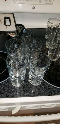 5 large size glassware Germantown, 20876