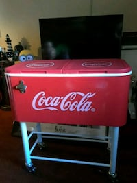 Coca Cola Cooler with stand