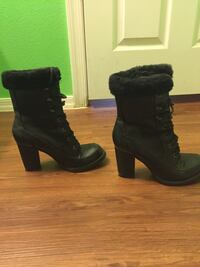 Women's high healed boots size 8 in very good condition  Peoria, 85345
