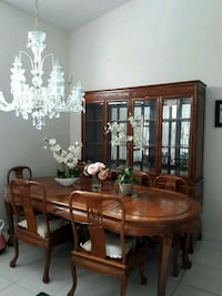Table and China Cabinet Set West Palm Beach, 33412