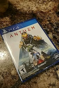 Anthem for PS4 brand new. Not opened. Hamilton, L8J 1X5