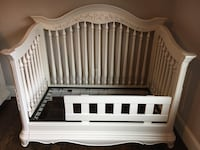 Baby's white wooden crib Arlington, 22207
