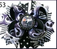 Jack Skellington Hair Bows. new North Las Vegas, 89032