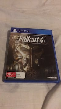 Fallout 4 PS4 game case Fitzroy North, 3068