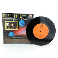 Dune Part 1 Battle For The Known Universe Book & Record See Hear Read Vintage 1984/1985 Port Colborne