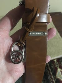Michael Kors leather belt 34 inch long  Harpers Ferry, 25425