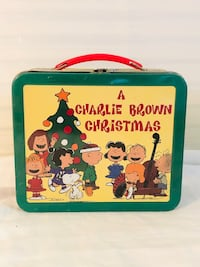 "Hallmark School Days Limited Time ""A Charlie Brown Christmas""Lunch Box"