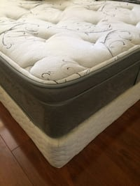 white and gray bed mattress SURREY
