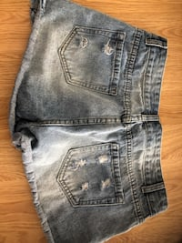 Brand new CYN jean shorts.  Size XL but fit like a L.