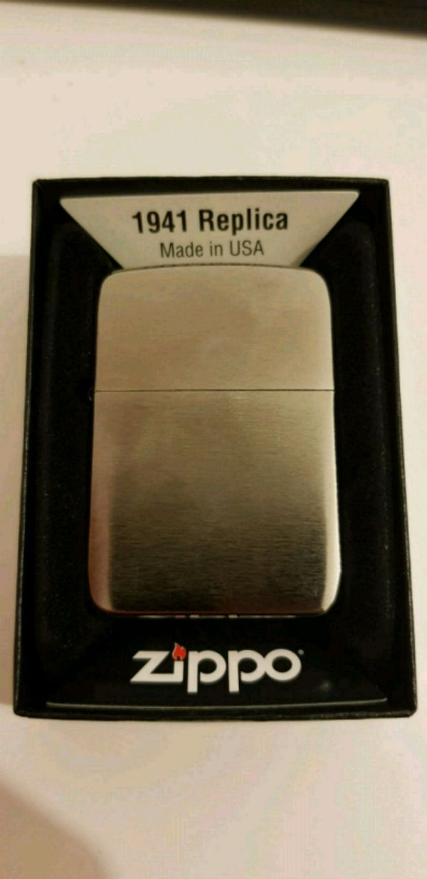 "Zippo ""Black Ice"" 1941 Lighter"