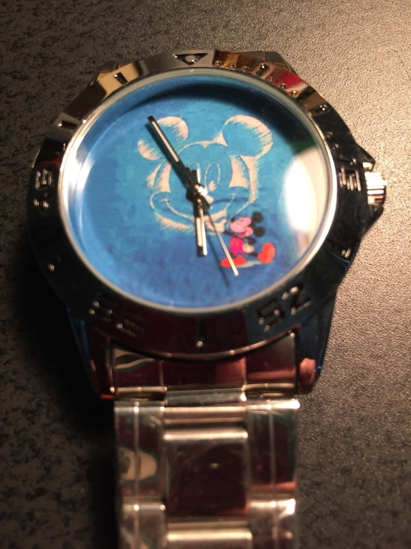 87eb3c1dc454 Used New Mickey Mouse stainless steel watch for sale in Sunrise - letgo