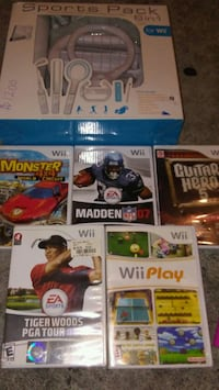 Wii games and accessories  Mount Vernon