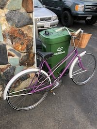 purple and white cruiser bike Chilliwack, V2P 7H5