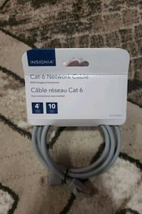 CAT 6 NETWORK CABLE 4FT-8FT-14FT Toronto, M3C 1G2