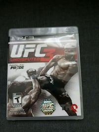 UFC3:Undisputed for PS3  Windsor, N8W 3W2
