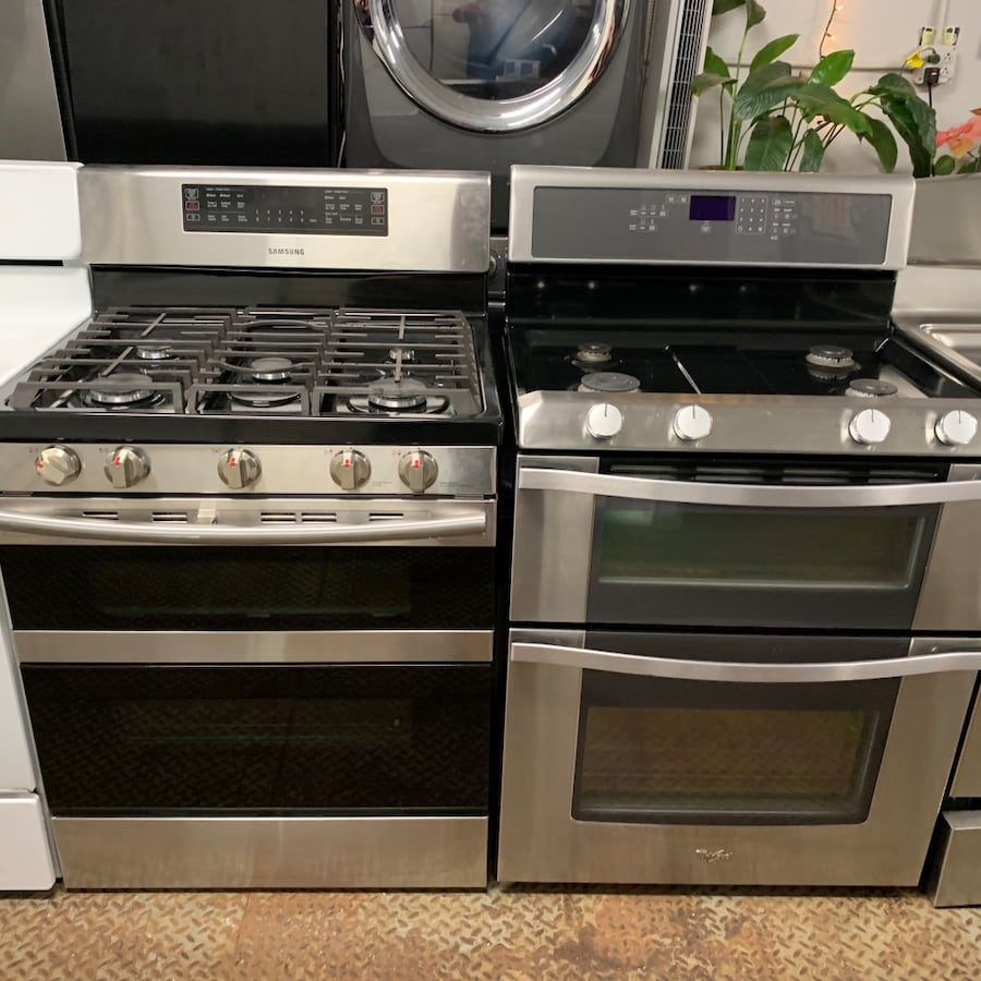 Gas stoves ( stainless/ 30 inch )
