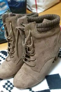 High heels boots by charlotte russ