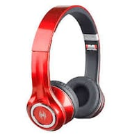 red and black wireless headphones Hamilton