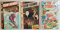 Teen Titans (1st series) comic lot Mount Airy