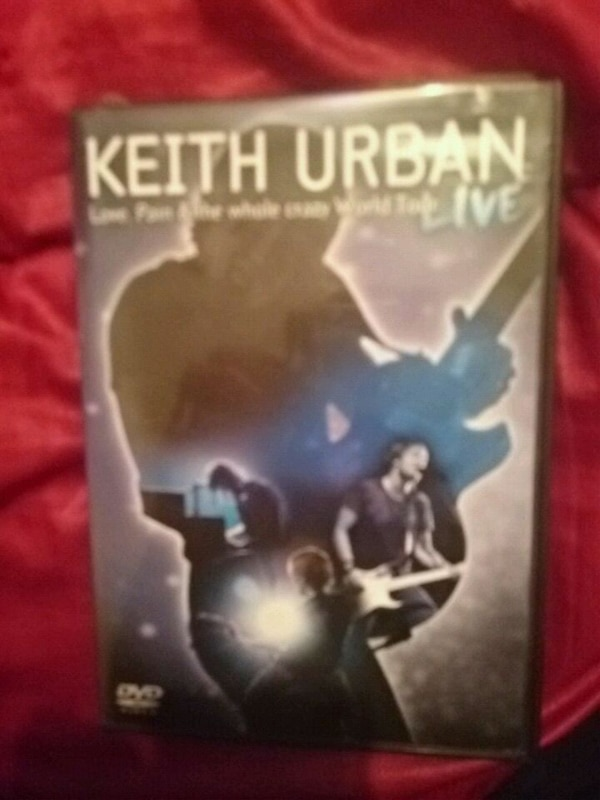 Keith Urban dvd great condition no scratches