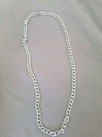 silver-colored chain necklace Mississauga, L5A 2H5
