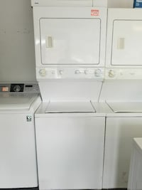 white stackable washer and dryer Gainesville