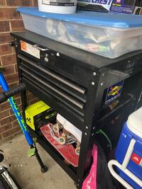 black and gray metal tool chest Alexandria, 22306