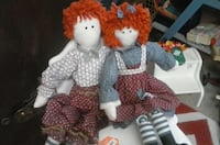 two rug dolls