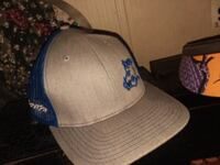 white and blue fitted cap Dothan, 36303