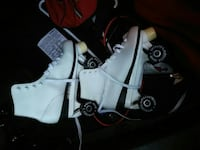 white-and-black snowboard boots Stone Mountain, 30083